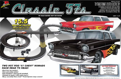 Life Like Classic '57s Electric Race Set – Chevy Nomads