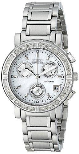 "Invicta Women's 4718 ""II Collection"" Limited Edition Diamond-Accented Stainless Steel Watch"