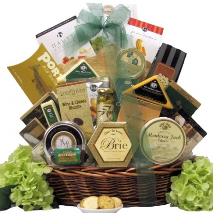 Great Arrivals Gourmet Cheese Gift Basket, Lasting Impressions