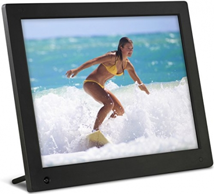 NIX 15 inch Hi-Res Digital Photo Frame with Motion Sensor & 4GB Memory – X15C