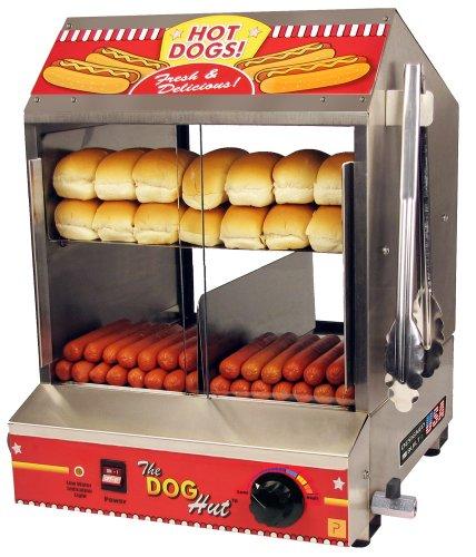 The Dog Hut Hotdog Steamer and Merchandiser