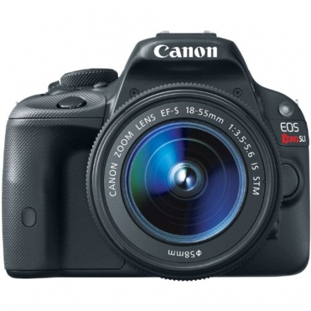 Canon EOS Rebel SL1 Digital SLR with 18-55mm STM Lens