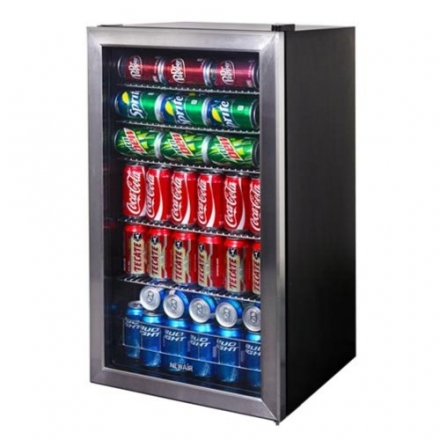 NewAir Newair 126-Can Stainless Steel Beverage Cooler