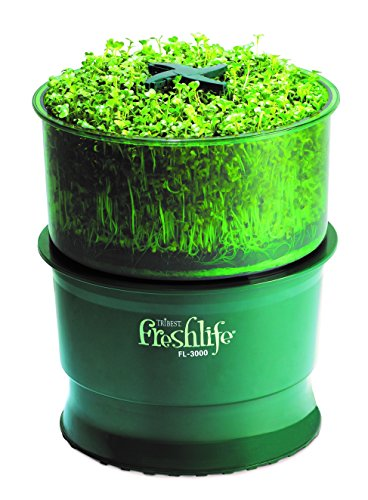 Tribest FL-3000-A Freshlife 3000 Automatic Sprouter, Green