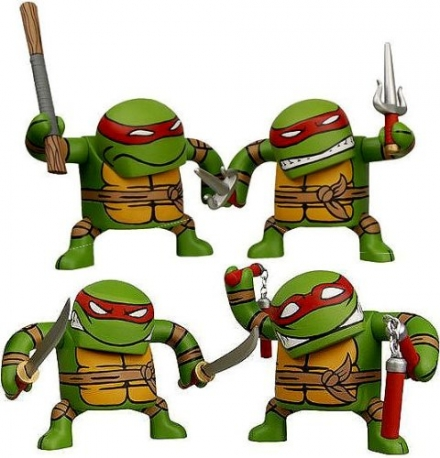 "Teenage Mutant Ninja Turtle ""Bastu Style"" – Set of 4 Figures"