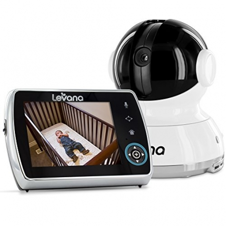 Levana Keera 32012 Remote Controlled Pan/Tilt/Zoom Camera with 3.5-Inch Screen