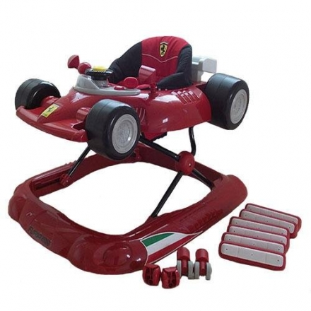 Ferrari F1 Baby Walker in Red