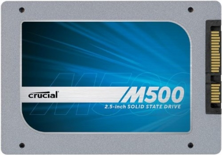 Crucial M500 480GB SATA 2.5-inch Internal SSD 7mm drive, with 9.5mm Adapter CT480M500SSD1