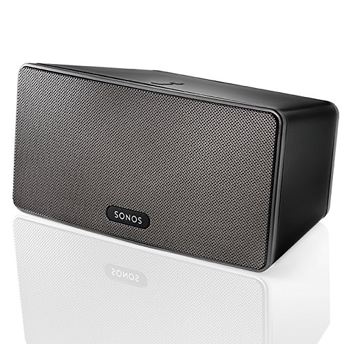 SONOS – PLAY:3 Wireless Speaker for Streaming Music (Medium) – Black