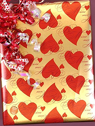 Paper – Be Mine Wrapping Paper 24″ X 417′