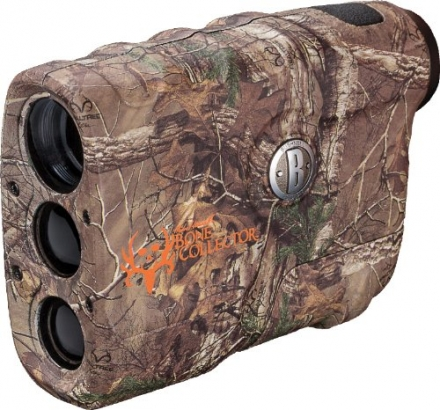 Bushnell Michael Waddell Bone Collector Edition 4x20mm Laser Rangefinder, Realtree Xtra Camo