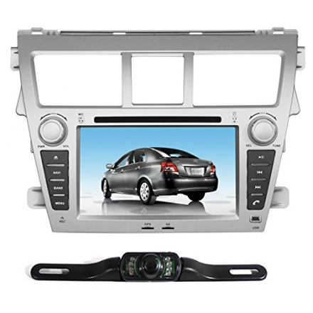 Pumpkin 7 Inch For Toyota Vios 2007-2012/Yaris Sedan 2007-2012 In Dash HD Touch Screen Car DVD Playe