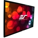 Elite Screens R110WH1 ezFrame Fixed Projection Screen (110″ Diag. 16:9 54″Hx96″W)