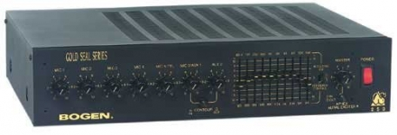 Bogen Communications GS100 Gold Seal Series Public Address Amplifier 100W