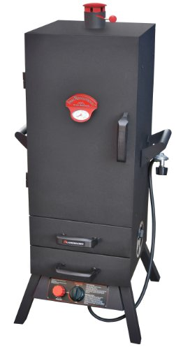 Landmann USA 3895GLA Smoky Mountain Vertical Gas Smoker, 38-Inch