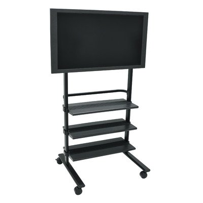Luxor Wilson LXWFP100 Flat Panel Stand for 32-60 Inch Monitors – Gray