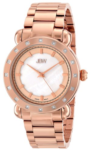 JBW Women's J6293D Analog Display Japanese Quartz Rose Gold Watch