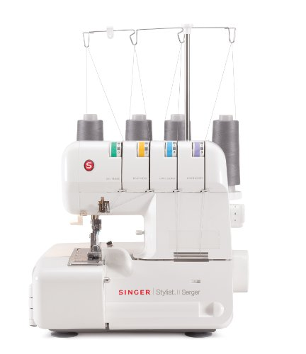 SINGER 14J250 Stylist II Serger Overlock Machine with 2-3-4 Thread Capability and Differential Feed