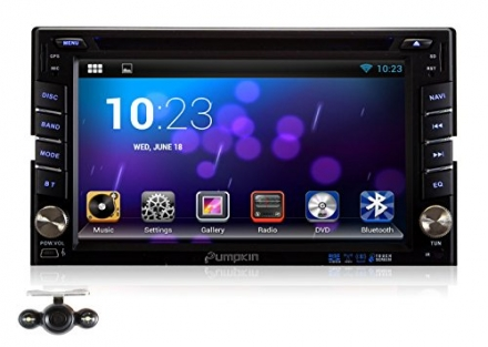 Pumpkin 6.2 inch Android 4.2 Universal In Dash HD Touch Screen Car DVD Player GPS Navigation Stereo