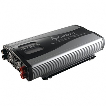 Cobra CPI 2575 2500 Watt 12 Volt DC to 120 Volt AC Power Inverter