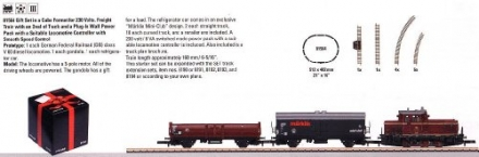 2011 Qtr.3 Gift Freight Starter Set in a Cube Format (Z Scale)