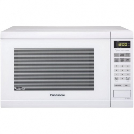 Panasonic NN-SN651W 1.2 Cubic Feet Genius Sensor Microwave with Inverter Technology, 1200-watt