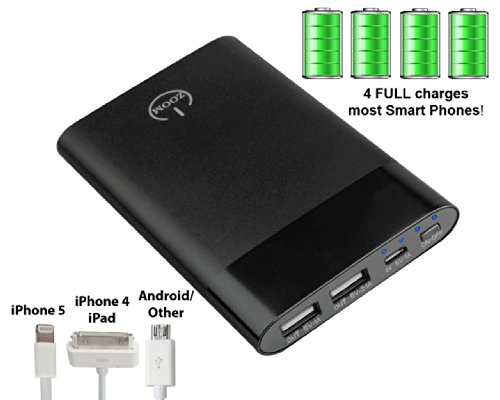 "★THANK YOU GIFT 50% OFF★ Office Gifts (10-PACK) ZOOM POWER BANK® TRUE-6000 mAh. ""Amazon's highe"