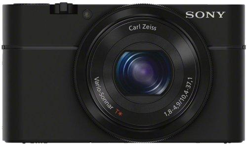 Sony DSC-RX100/B 20.2 MP Exmor CMOS Sensor Digital Camera with 3.6x Zoom