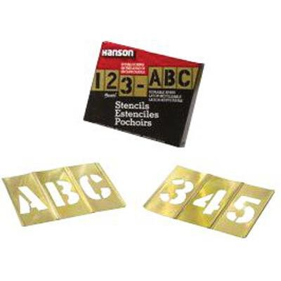 Brass Stencil Letter & Number Sets – 3″ 77pc letter & number