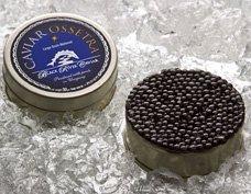 Black River Caviar: Siberian Ossetra Caviar, 30 grams (1.12 oz)