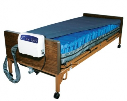 Drive Medical Med Aire Low Air Loss Mattress Replacement System with Alarm, 8″