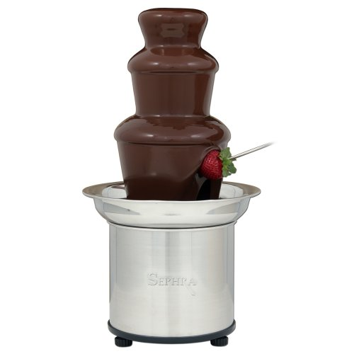 The Sephra 16-Inch Stainless Steel 4-Pound Capactiy Select Home Fondue Fountain