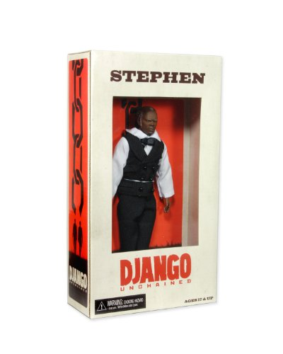 "NECA Django Unchained ""Stephen"" 8″ Action Figure, Series 1"