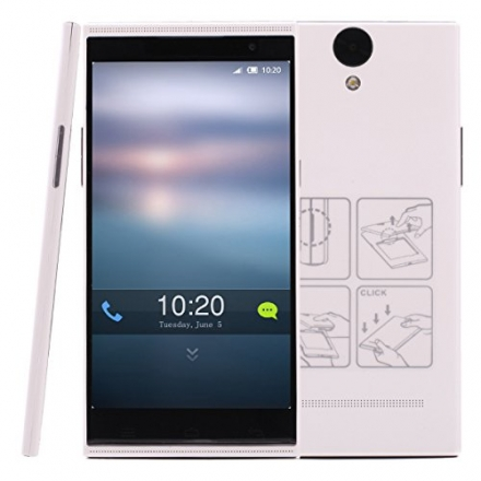 iRulu V1 5.5″ QHD Android 4.4 KitKat Smartphone MT6582 Quad core 1.3GHZ Real camera 8.0MP Dual camer