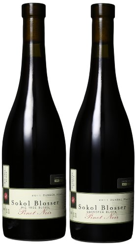 Sokol Blosser Single Block Pinot Noirs with Goosepen Block and Big Tree Block Mixed Pack, 2 x 750 mL