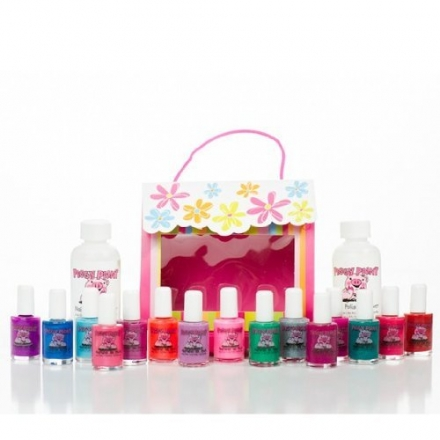 Piggy Paint Princess Piggy Pack – Kid Friendly Nail Polish Gift Set, Non-toxic, Formaldehyde Free