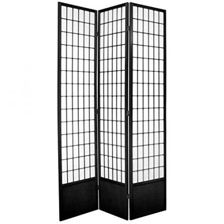 Oriental Furniture Best Classic Asian Design, 7-Feet Window Pane Japanese Shoji Screen Room Divider,