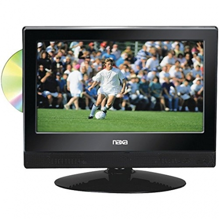 NAXA NTD1354 13.3″ WIDESCREEN HDTV WITH BUILT-IN DIGITAL TV TUNER & DVD PLAYER