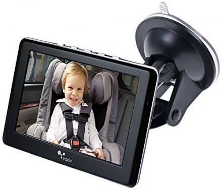 Yada (BT53901F-2) Tiny Traveler Matte Black 4.3″ Digital Wireless Baby Monitor