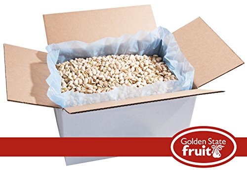 Pistachios in the Shell Roasted and Salted 25 Lbs (Bulk Packaged)