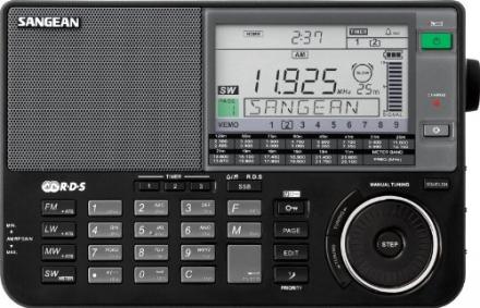 Sangean ATS-909X BK AM/FM/LW/SW World Band Receiver – Black