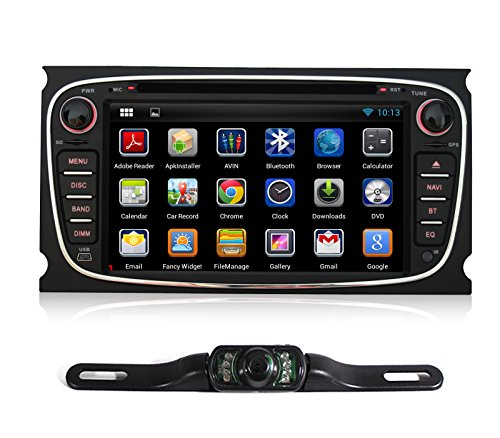 Pumpkin 7 Inch Android 4.2 For Ford Mondeo 2007-2011/S-max 2008-2012/Focus 2007-2010/Galaxy 2010-201