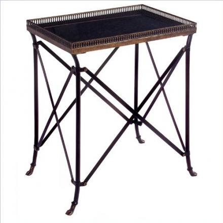IMAX 12003 Rectangular Black Accent Table