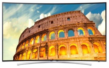 Samsung UN48H8000 Curved 48-Inch 1080p 240Hz 3D Smart LED TV