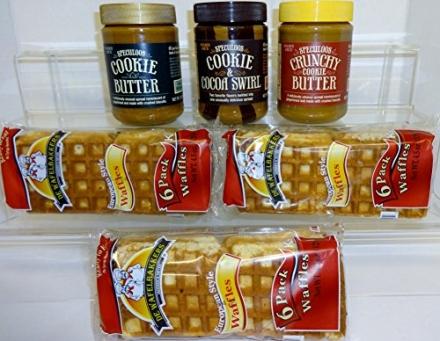 Trader Joe's Variety Cookie Butter Gift: Speculoos Smooth Cookie Butter; Speculoos Crunchy Cookie Bu