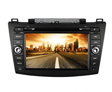 Pumpkin 8 Inch For Mazda 3 2010-2013 In Dash HD Touch Screen Car DVD Player GPS/BT/SD/USB/FM/AM Radi