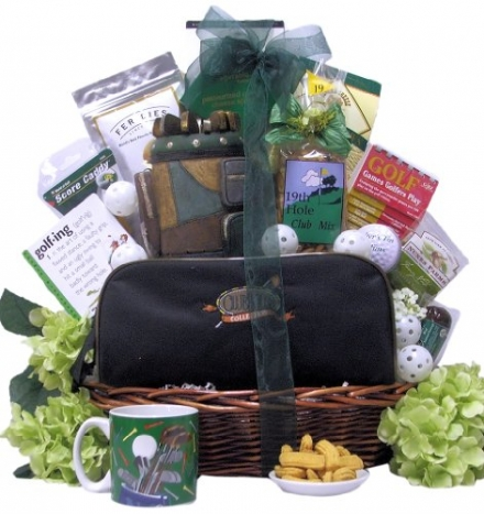 Great Arrivals Golf Gift Basket, Hole in One