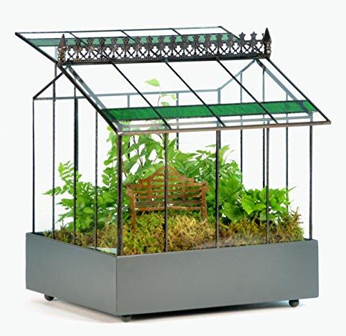 H Potter Glass Terrarium Indoor Planter Wardian Case