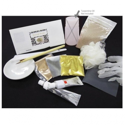 Kintsugi Repair Kit With Low Allergenic Japanese Urushi Lacquer From Japan