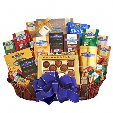 California Delicious Ghirardelli Deluxe Gift Basket